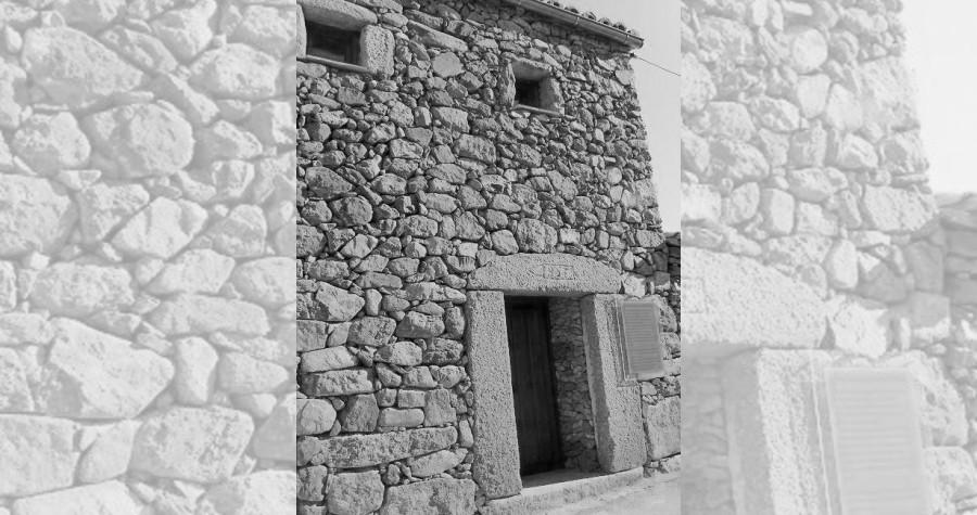 Detalle de una vivienda tradicional